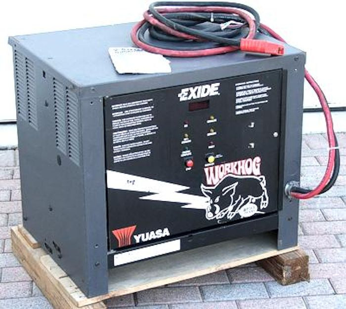 exide yuasa workhog 24 volt 110 ampers battery charger ebay. Black Bedroom Furniture Sets. Home Design Ideas